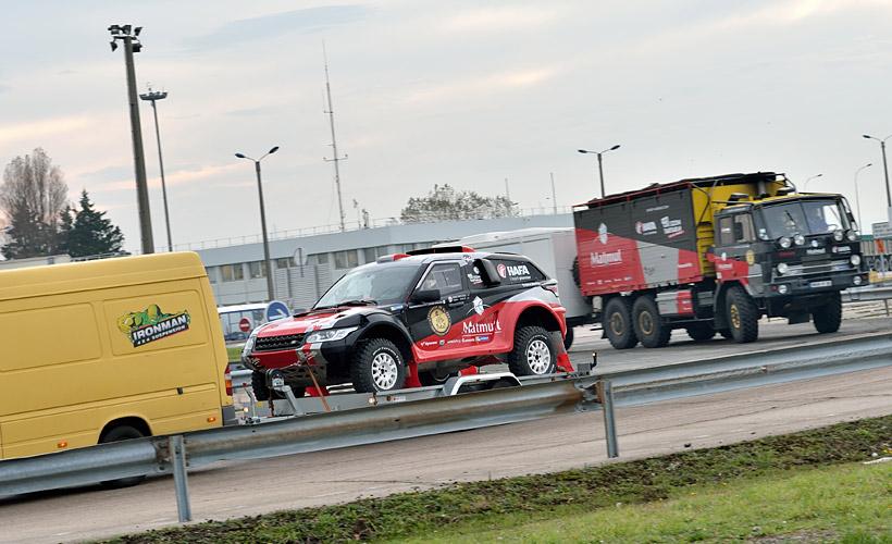 Départ du Dakar 2017 HAFA