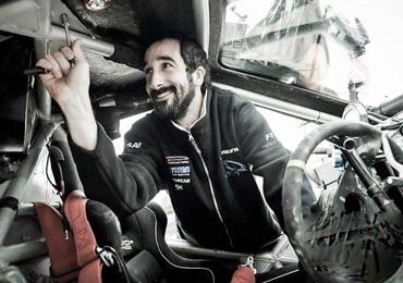 Philippe Valade mécanicien Dakar 2017