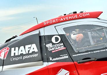 HAFA et Philippe Croizon, sur la ligne de départ du Dakar 2017
