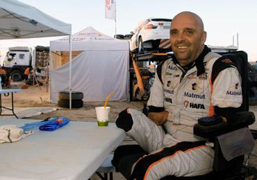 Interview de Philippe Croizon par téléphone avant son départ pour le Dakar 2017