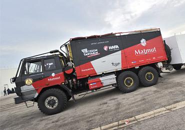 Les véhicules du team Croizon Tartarin pour le Dakar 2017