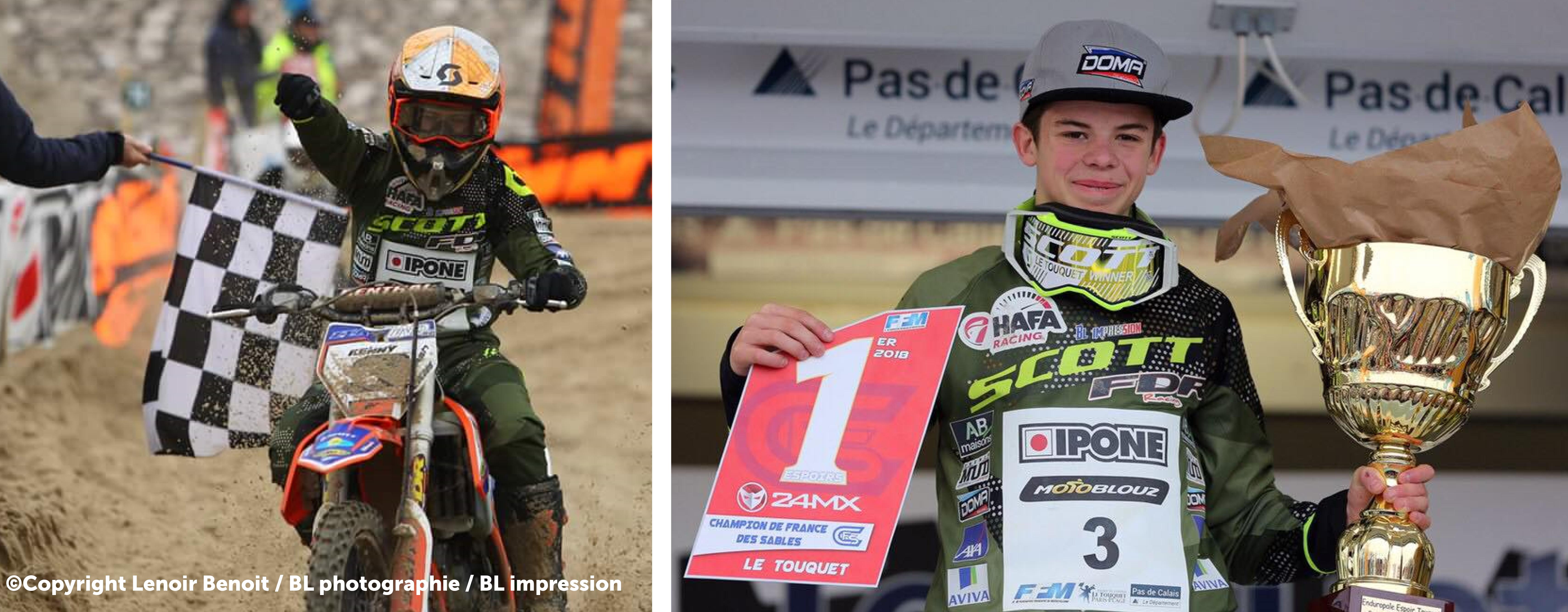 Arnaud ZOLDOS Champion de France Espoir CFS