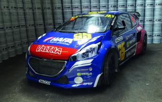 308 WRX Rallycross Laurent Bouliou